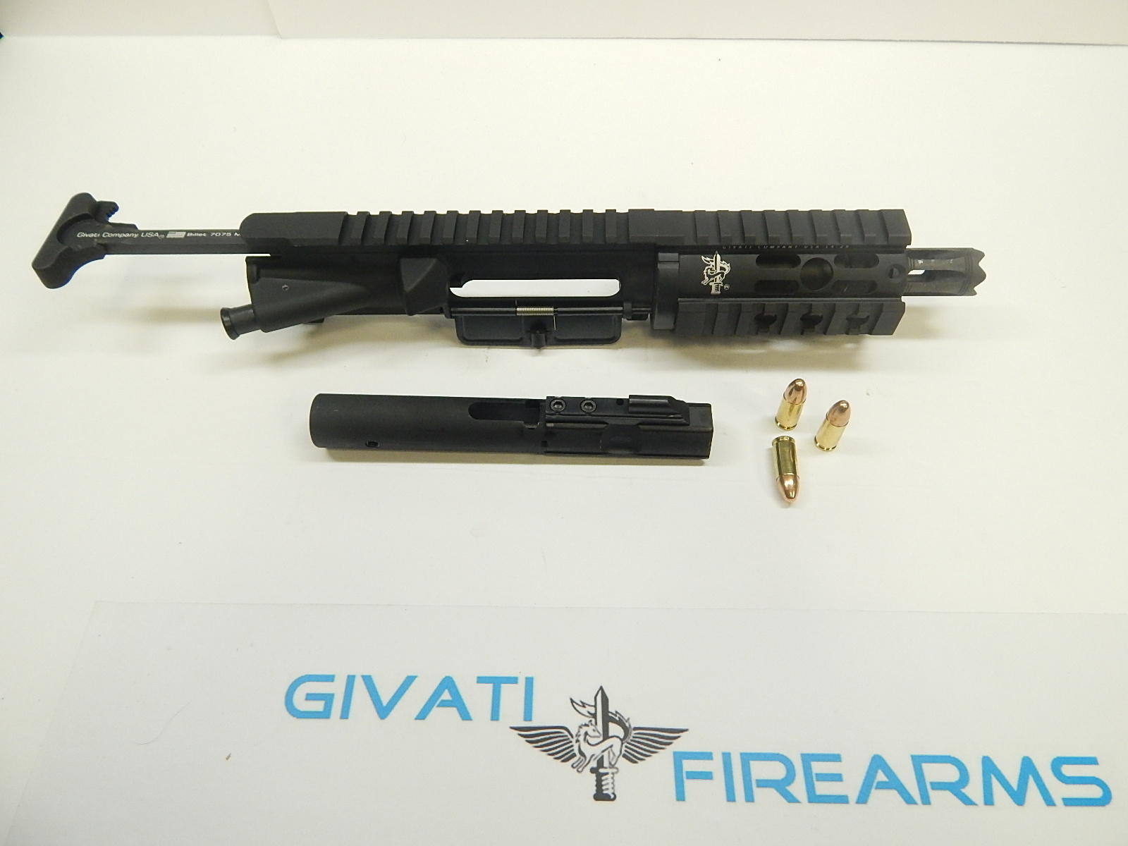 Ak 47 80 receiver - Gcu 9mm Ar 15 Upper Receiver Complete With Bolt Carrier And Charging Handle 4 5 Barrel