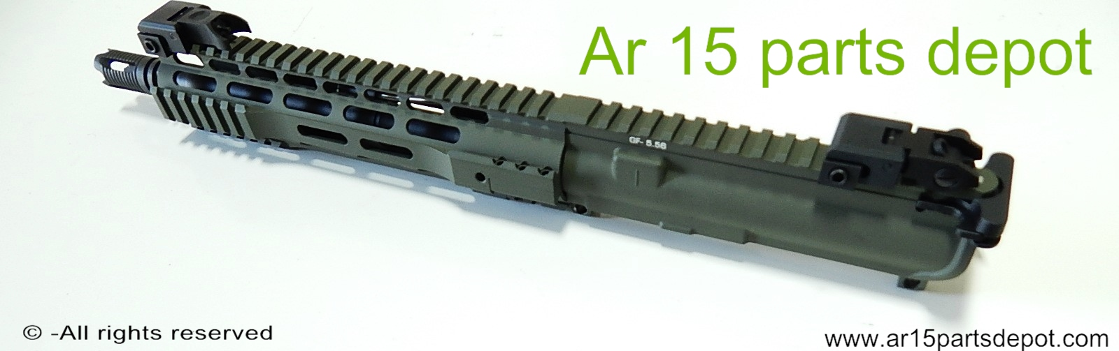 Ar 15 upper receiver 10 5