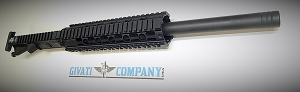 Ar 15 16 Upper receiver assembly 556x45-223 bull barrel  -Givati Company USA
