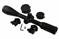 Sniper Scope LT4-16x40AOL with Side R/G/B Ill,qta W/e,ring,flip Open Lens Cover
