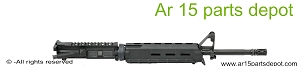 AR 15 16 upper receiver carbine black  moe handguard- melonite barrel bcg and ch included