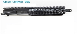 Gcu 7.62x39 10.5 upper receiver assembly  with 9