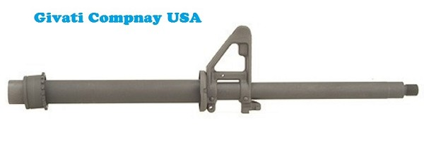 "AR-15 7.62x39 16"" A2 Barrel Assembly By-Givati Company USA"
