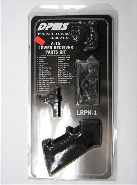 Dpms lower parts kit complete,hammer trigger included